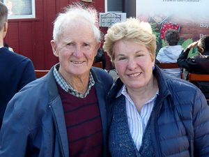 Owners Geoffrey C. Morell and Sally Fallon Morell, Cheesemaker