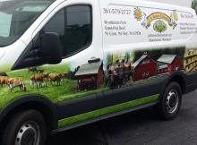 PABF Delivery Van