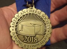 First Place medal from ACS