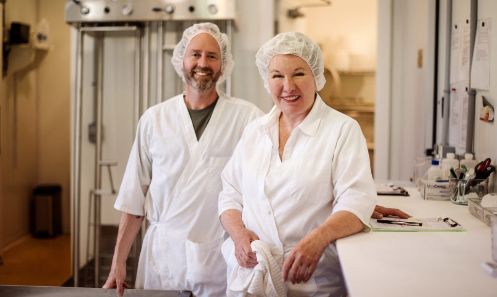 Cheesemakers Sally Fallon Morell and Brian Wort