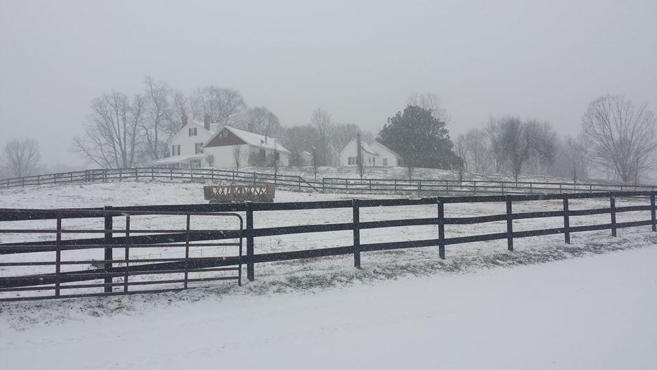 Wintertime at P.A. Bowen Farmstead